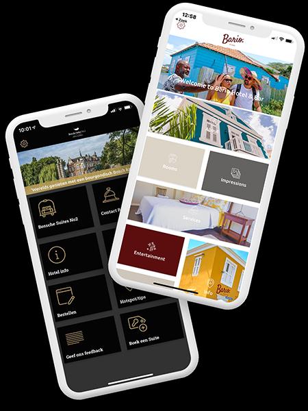 Een eigen app voor jouw verblijf