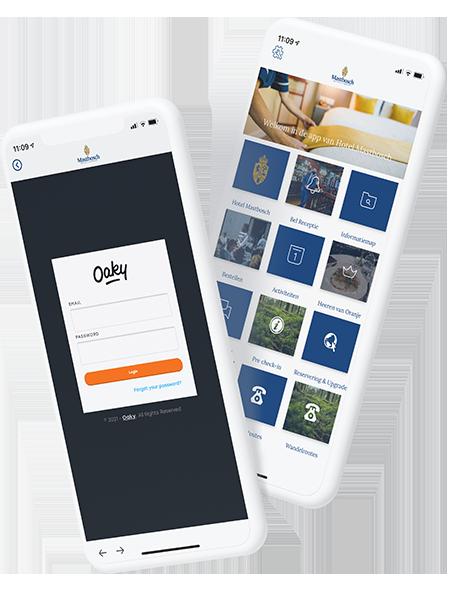 beveiligde app