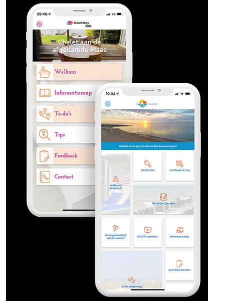 De bed and breakfast app
